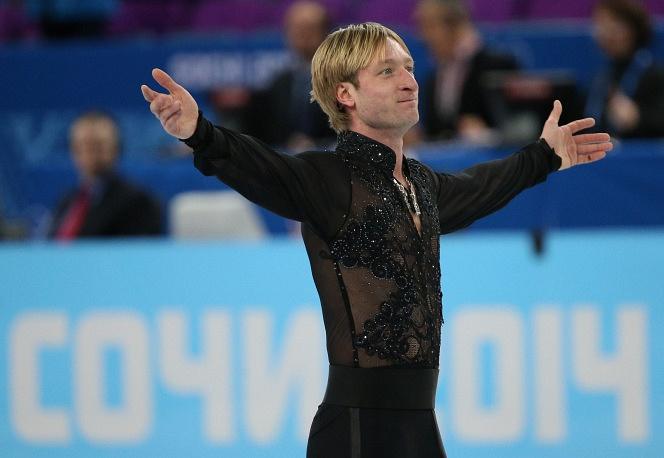 Legendary figure skater Yevgeny Plushenko