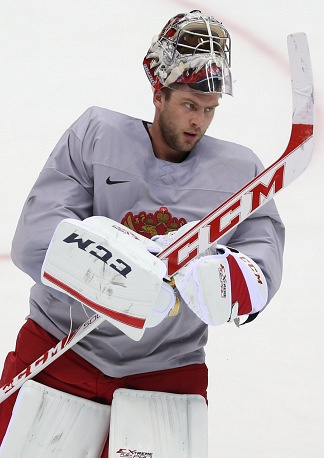 Goaltender Semyon Varlamov