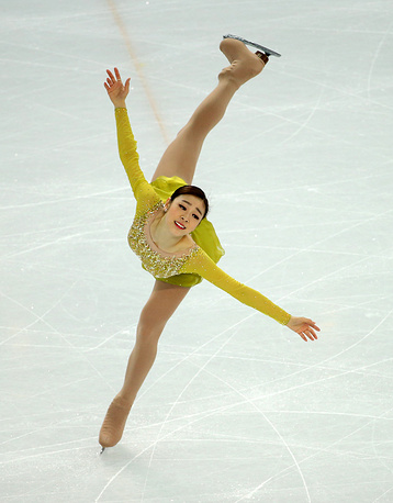 Kim Yuna of South Korea