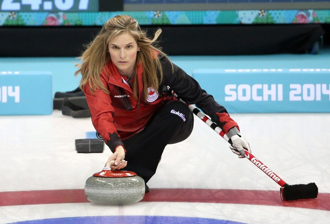 Jennifer Jones (39) of Canada