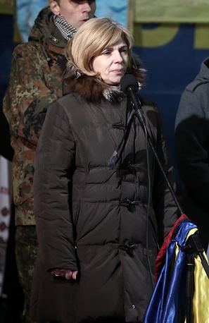 Candidate for healthcare minister, Olga Bogomolets