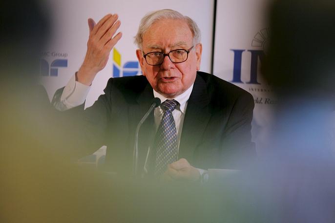 American business magnate Warren Buffett, $58.2 bln