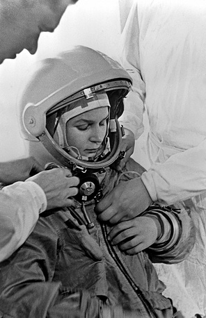 Valentina Tereshkova was selected from over 400 applicants to pilot Vostok 6 on Jun. 16 1963