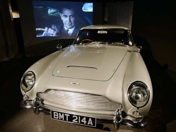 Austin Martin DB5 is the most famous 007 vehicle