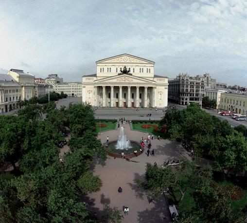 The Bolshoi Theater in 1986