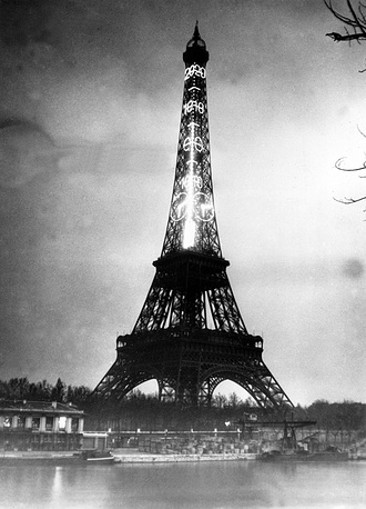 The Eiffel Tower is the most well-known landmark of Paris and one of the most famous samples of architectural heritage