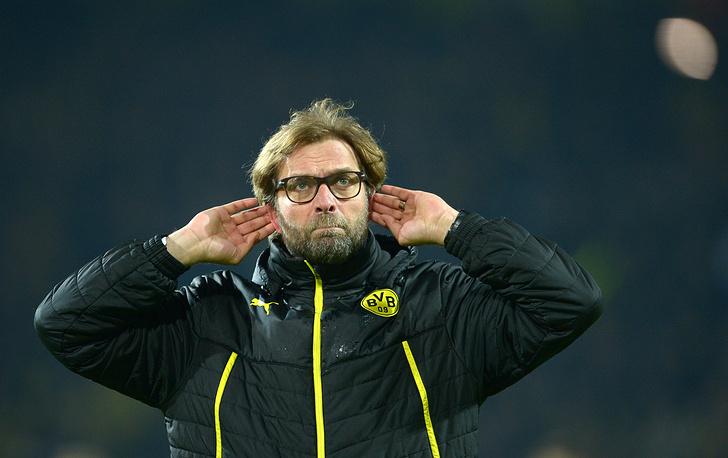 Dortmund's coach Juergen Klopp