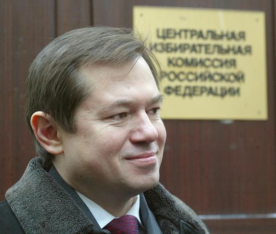 Presidential aide Sergei Glazyev