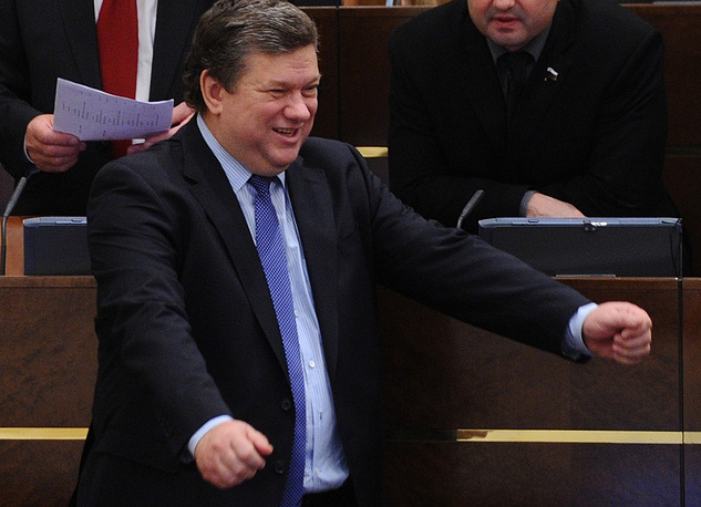 Vice-Speaker of the Federation Council  Yevgeny Bushmin