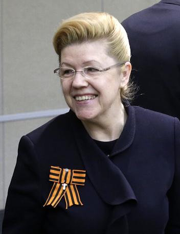 Lawmaker Yelena Mizulina