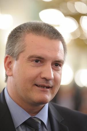 Crimea's Prime-Minister Sergey Aksyonov