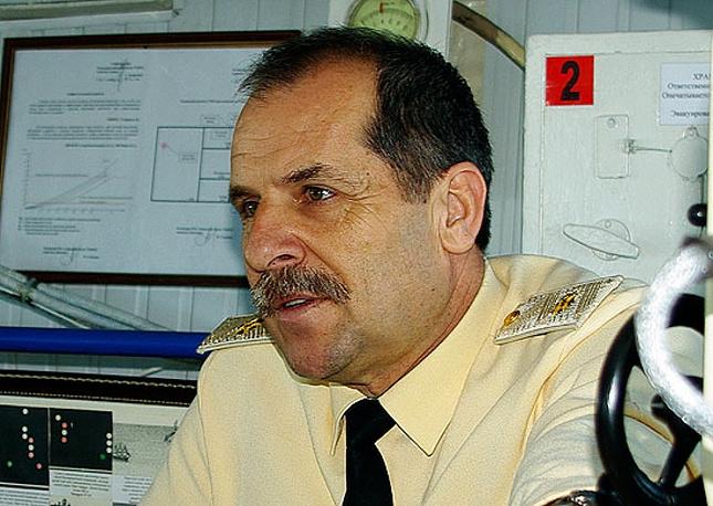 Deputy Commander in Chief of the Russian Black Sea Fleet Valery Kulikov