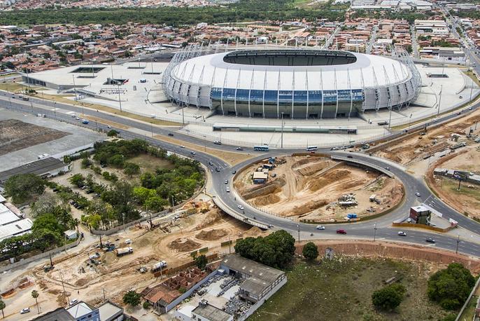 Mineirão stadium in Fortaleza