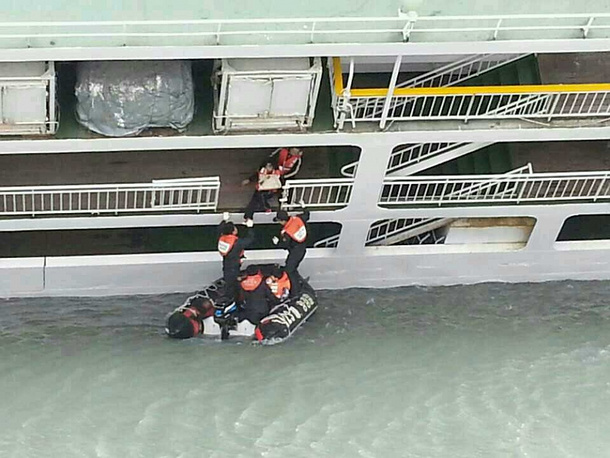 A teenager from Russia was on board the sunken ferry. The 16-year-old boy is still missing