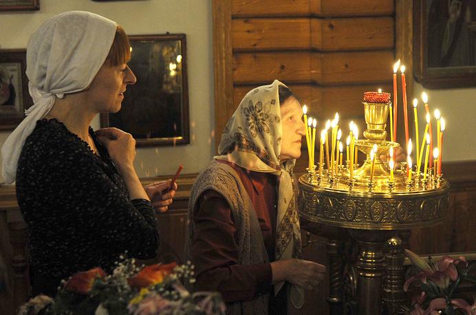 Easter vigil in Russia's Kamchatka territory