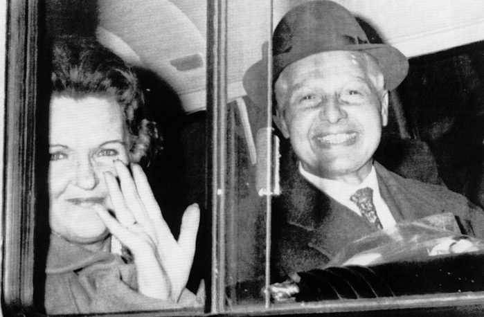 In October 1969 the USSR and Great Britain exchanged Soviet spies for British agent Gerald Brooke