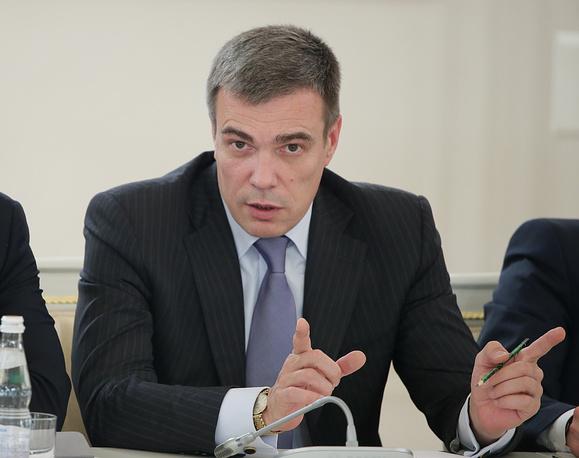 Minister for Crimean Affairs Oleg Savelyev