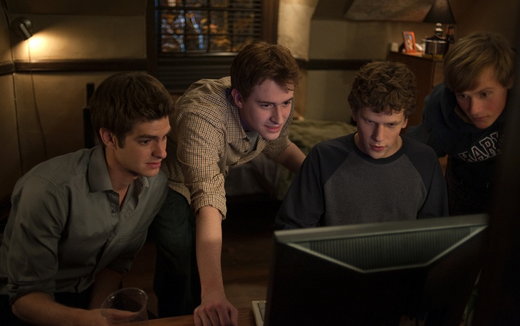 "In 2010 David Fincher directed the film ""The Social Network"" portraying the creation and founding of Facebook"