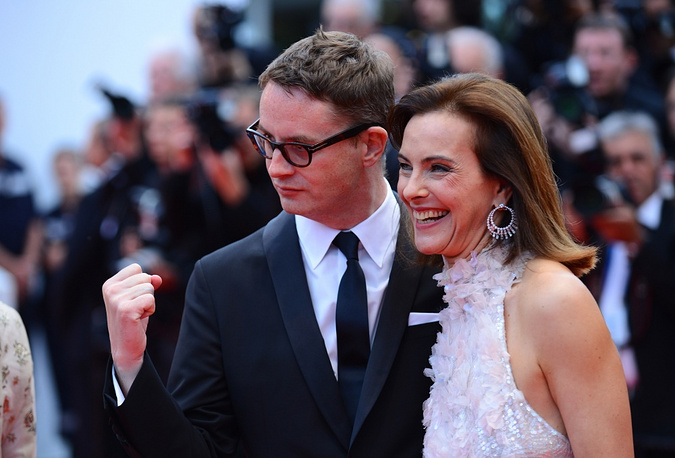 Jury members Nicolas Winding Refn and Carole Bouquet