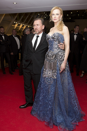 Tim Roth and Nicole Kidman