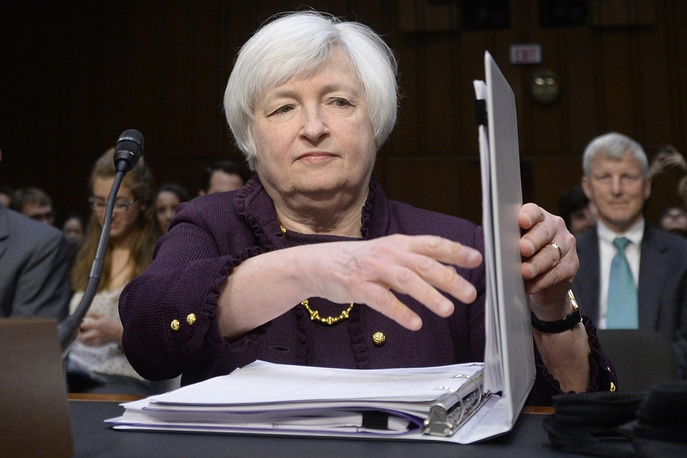 Chair of the US Federal Reserve Janet Yellen