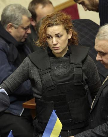 At the recent Kiev mayoral election, Klitschko's main opponent was Verkhovna Rada deputy Lesya Orobets