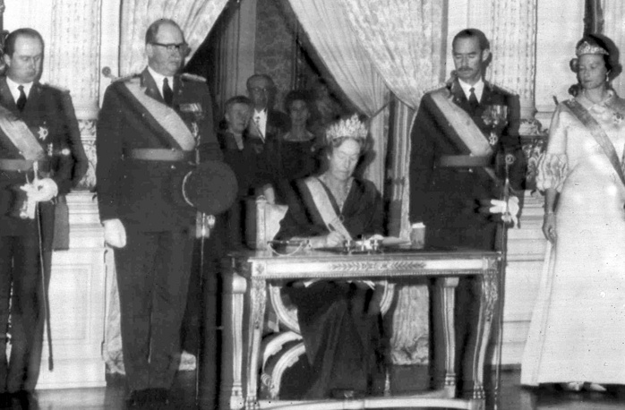 Grand Duchess of Luxembourg Charlotte abdicated in 1964 in favour of her son Jean, who then reigned until his abdication in 2000