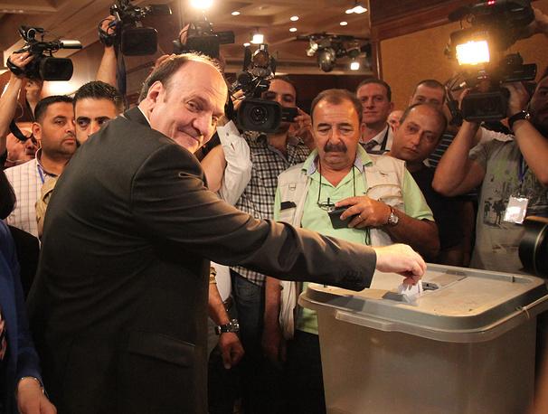 Presidential candidate Hassan al-Nouri