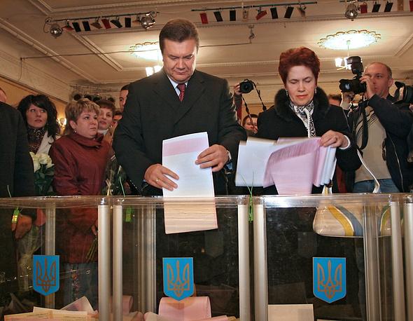 Lyudmila Yanukovych (right) married Viktor Yanukovych (left) in 1971. They have two children: sons Alexander and Viktor