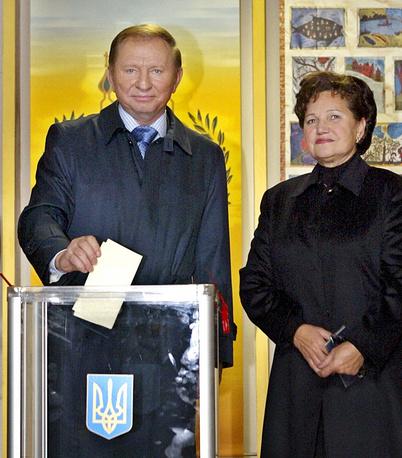 Lyudmila Kuchma is the wife of Ukraine's second president Leonid Kuchma.