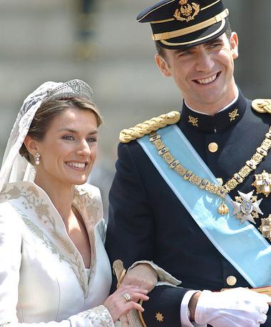 Prince Felipe and Princess Letizia's wedding