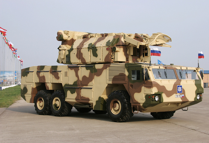 Tor-M2E air defense system
