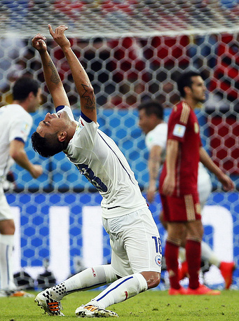 Chile's Gonzalo Jara