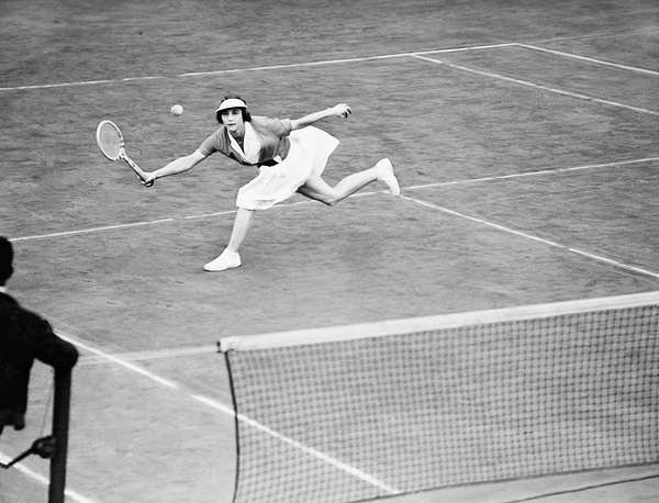 After losing her first Wimbledon final in 1924, American Helen Wills won the tournament eight times