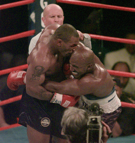 The most famous case occurred in 1997, when Mike Tyson bit into the ear of Evander Holyfield during their match in Las Vegas