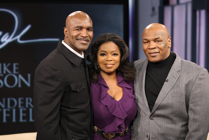 Two years later, in 2009, Tyson apologized to Holyfield during Oprah Winfrey's TV show
