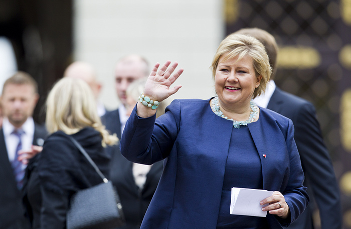 Erna Solberg replies to her followers more often than her European colleagues