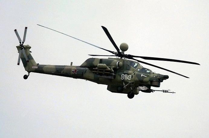 Mi-28NE attack helicopter