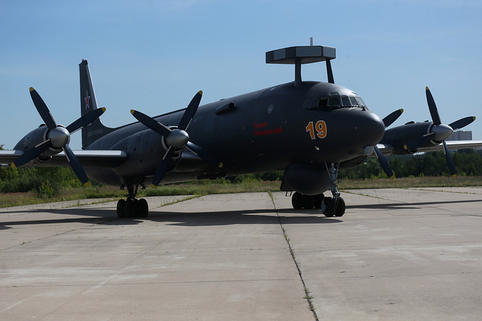 A modernised version of the Ilyushin Il-38N anti-submarine plane
