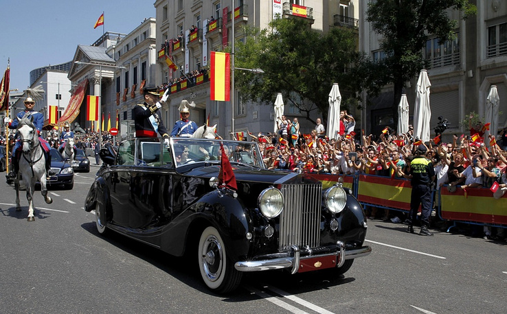 Spain's new King Felipe prefers a Rolls Royce