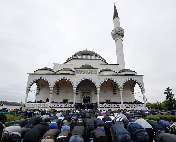 Eid al-Fitr celebration in Yekaterinburg