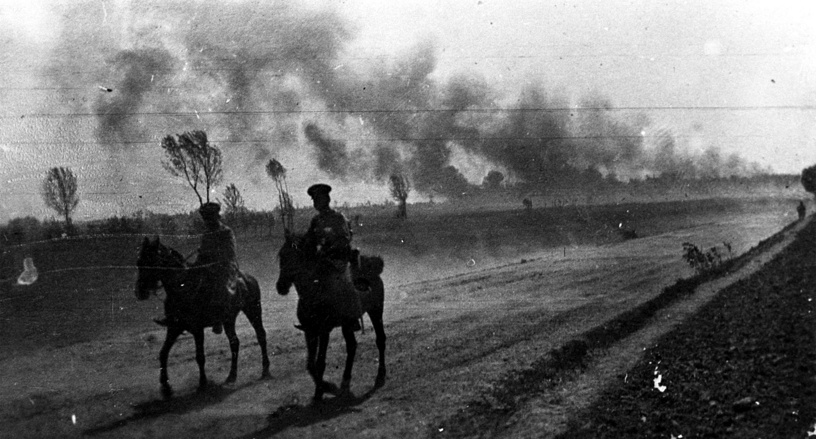 The Russian government collapsed in March 1917, and in November 1918 the Austro-Hungarian empire agreed to an armistice