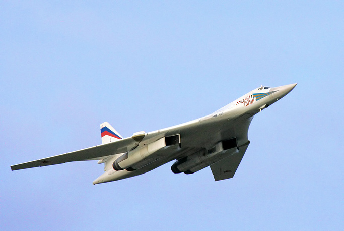 """The Tupolev Tu-160  supersonic strategic bomber was given the nickname of """"White Swan"""". It's the largest supersonic aircraft in the world"""