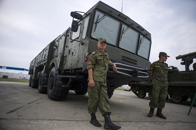 An Iskander-M missile system