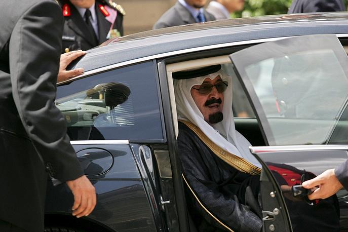 King Abdullah ibn Abdulaziz of Saudi Arabia, aged 90, is the oldest ruling monarch