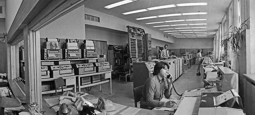 TASS telephoto service, 1976