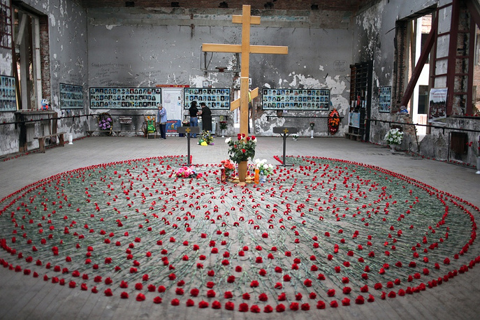 Tenth annniversary of the tragedy in Beslan, September 1, 2014