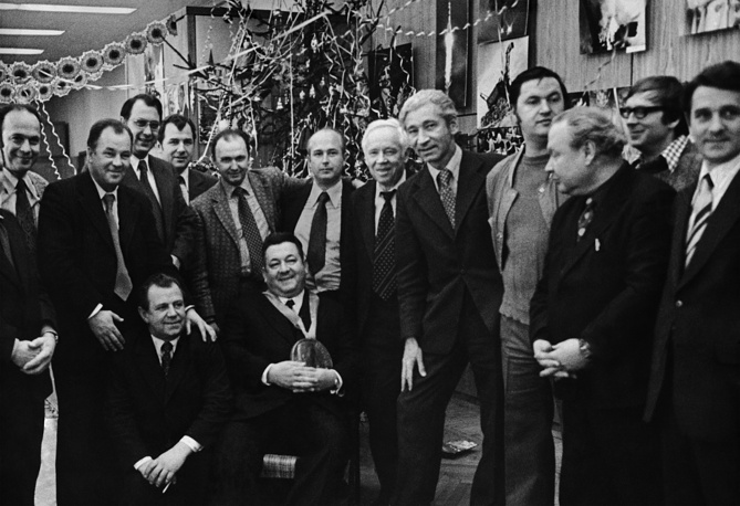 New Year at Fotokhronika TASS, 1971
