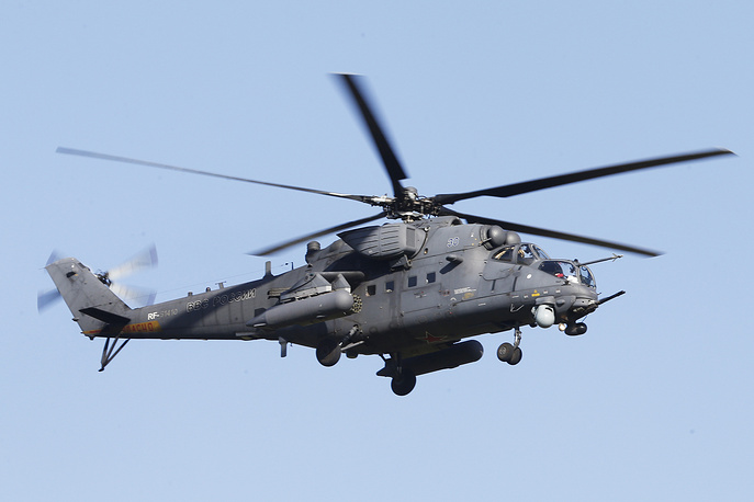 Mi-35M attack helicopter