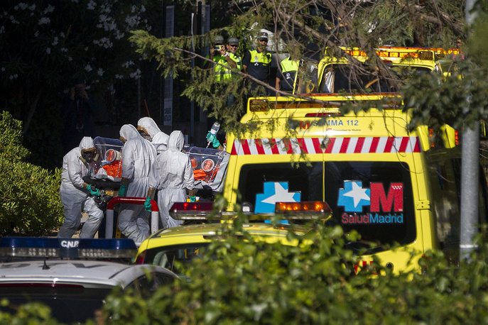 The first case of the deadly Ebola virus has been diagnosed on Spanish soil October 06. Another patient probably infected with the Ebola virus was admitted to the Carlos III hospital in Madrid Wednesday, October 08 2014